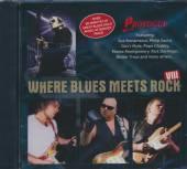 VARIOUS  - CD WHERE BLUES MEETS ROCK 8