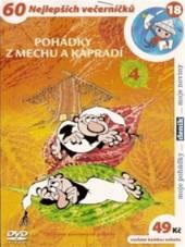 FILM  - DVP Pohádky z mechu a kapradí 4 DVD