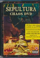 SEPULTURA  - DVD CHAOS