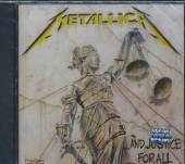 METALLICA  - CD AND JUSTICE FOR ALL