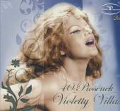 VILLAS VIOLETTA  - 2xCD 40 PIOSENEK VIOLETTY..