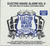 VARIOUS  - 2xCD ELECTRO HOUSE ALARM 8