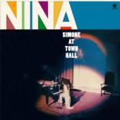 SIMONE NINA  - VINYL AT TOWN HALL -HQ- [VINYL]