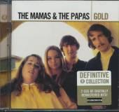 MAMAS & THE PAPAS  - 2xCD GOLD
