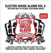 VARIOUS  - 2xCD ELECTRO HOUSE ALARM VOL.9