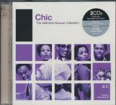 CHIC  - 2xCD DEFINITIVE GROOVE: CHIC