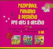 - 3CD ROZPRAVKY, RIEKANKY A PESNICKY PRE