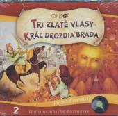 NAJKRAJSIE ROZPRAVKY 2 TRI ZLATE VLASY/KRAL DROZDI - supershop.sk