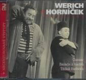 WERICH JAN HORNICEK MIROSLAV  - 2xCD PREDSCENY (2CD)