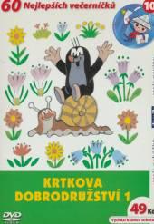 Krtkova dobrodružství 1 DVD - supershop.sk