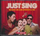 VARIOUS  - 2xCD+DVD KARAOKE - JUST SING [2CD+DVD]