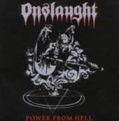 ONSLAUGHT  - CD POWER FROM HELL