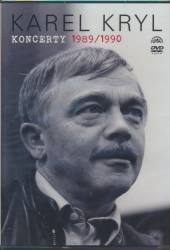 KRYL KAREL  - DVD KONCERTY 1989/1990