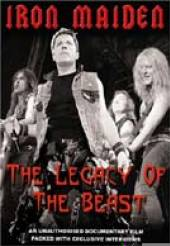 IRON MAIDEN  - DVD IRON MAIDEN:THE LEGACY OF THE.