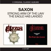 SAXON  - 2xCD STRONG ARM OF THE LAW / T