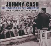 CASH JOHNNY  - 2xCD AT SAN QUENTIN/FOLSOM..