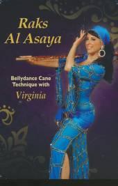 ASAYA RAKS AL  - DVD BELLYDANCE CANE..