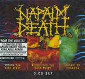 NAPALM DEATH  - CD COFFRET 3CD : INSIDE THE TORN APART