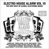 VARIOUS  - 2xCD ELECTRO HOUSE ALARM 10