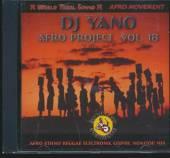 DJ YANO  - CD AFRO PROJECT VOL.18