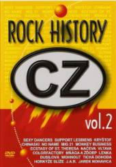 VARIOUS  - DVD CZ ROCK HISTORY VOL.2