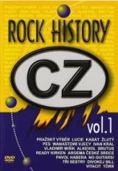 VARIOUS  - DVD CZ ROCK HISTORY VOL.1