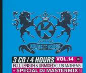 VARIOUS  - 3xCD KONTOR HOUSE OF HOUSE 14 [2012]