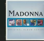MADONNA  - 5xCD ORIGINAL ALBUM SERIES