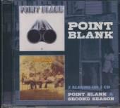POINT BLANK  - CD POINT BLANK/SECOND SEASON