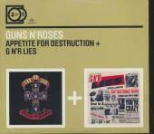 GUNS N' ROSES  - CD APPETITE FOR DESTRUCTION/LIES (2FOR1)