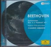 ABBADO CLAUDIO  - CD BEETHOVEN:SYMPH.5,6,9 (DUO)