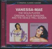VANESSA-MAE  - 2xCD CLASSIC ALBUMS:VIOLIN PLAYER