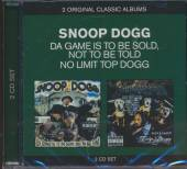 SNOOP DOGG  - 2xCD CLASSIC ALBUMS ..