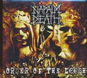 NAPALM DEATH  - CD ORDER OF THE LEECH