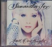 FOX SAMANTHA  - CD JUST ONE NIGHT (DELUXE EDITION)