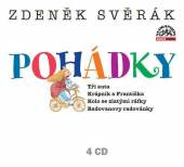 SVERAK ZDENEK  - 4xCD POHADKY:Tri aut..