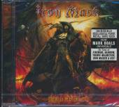 IRON MASK  - CD BLACK AS DEATH