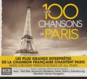 VARIOUS  - 5xCD 100 CHANSONS DE PARIS