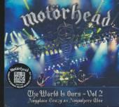 MOTORHEAD  - 3xCD+DVD WORLD IS OU..