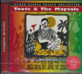 TOOTS AND THE MAYTALS  - CD REGGAE GREATS