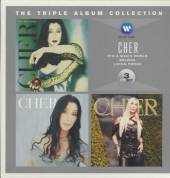 CHER  - 3xCD TRIPLE ALBUM COLLECTION
