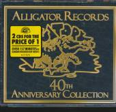 VARIOUS  - 2xCD ALLIGATOR RECORDS 40TH..