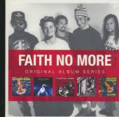 FAITH NO MORE  - 5xCD ORIGINAL ALBUM SERIES