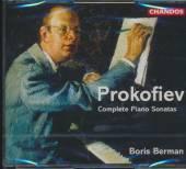 PROKOFIEV SERGEI  - 3xCD COMPLETE PIANO SONATAS/B.B