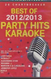 KARAOKE  - DVD PARTY HITS BEST OF 2012/2013