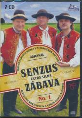 SENZUS  - 7xcd EXTRA SILNA ZABAVA [7CD]