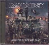 IRON MAIDEN  - CD MATTER OF LIFE AND DEATH