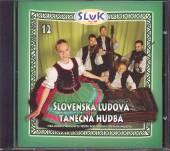 SLUK  - CD 12.SLOVENSKA LUDOVA TANECNA HUDBA