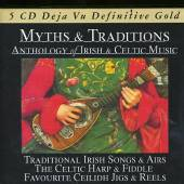 MYTHS & TRADITIONS  - 5xCD IRISH & CELTIC MUSIC