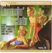 VARIOUS  - CD 100% LOUNGIN' SOCIETY 3